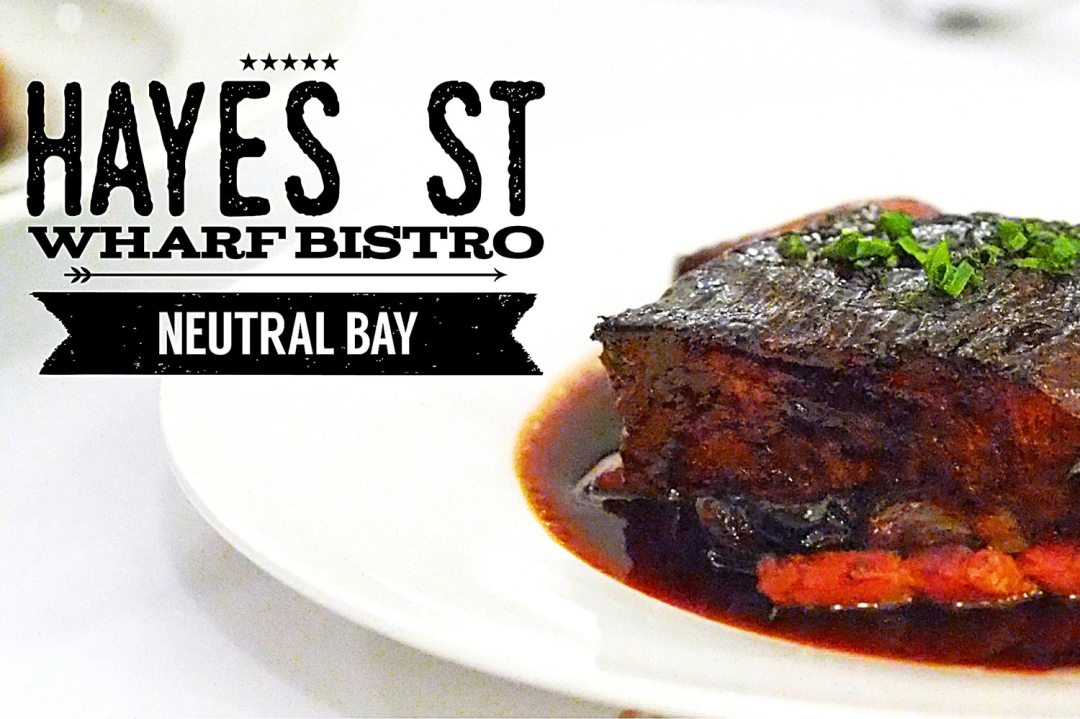 Sydney Food Blog Review of Hayes St Wharf Bistro, Neutral Bay