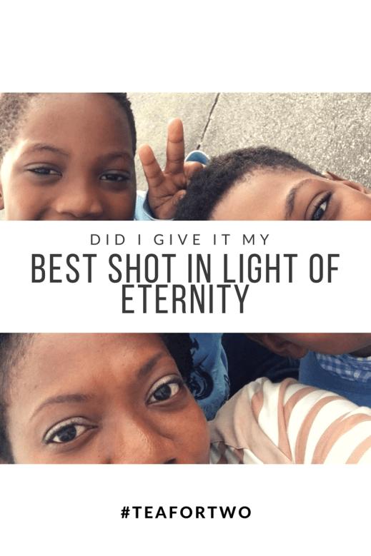 Eternity, Hope, Living