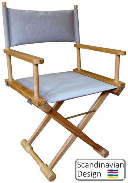 Teak Folding Captains Chair W Cushions Teak Deck Company Teak Deck Company