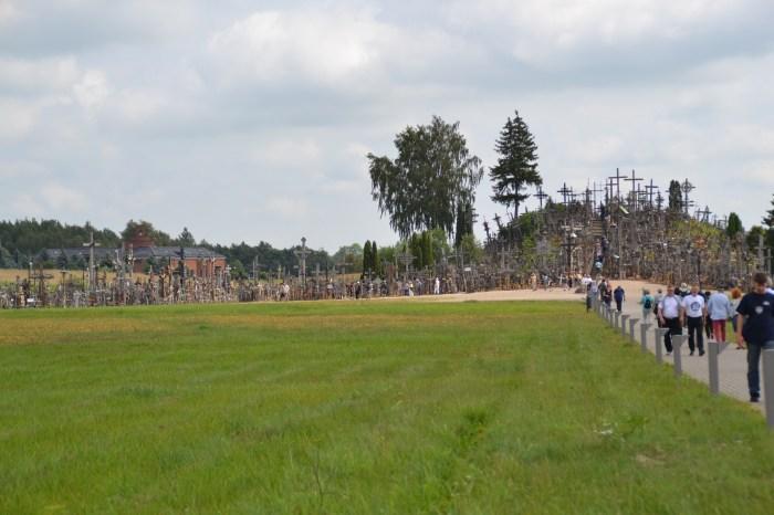 Berg der Kreuze in Litauen.