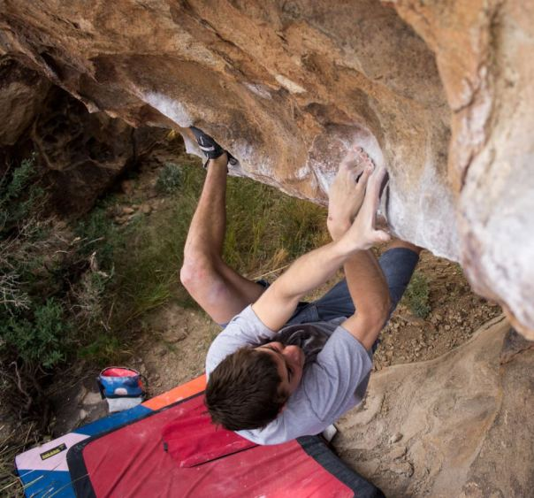Matt Lubar Sunshine 8A Hueco Tanks