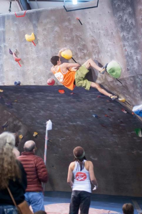 Remi Arata Team ABC Boulder The Spot Gladiator Finals SBS 8 2013