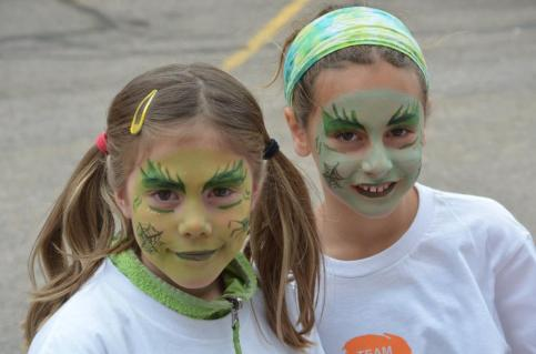 More fun with face paint!