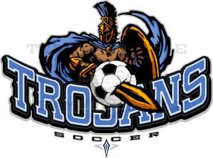 Trojans Soccer Logo