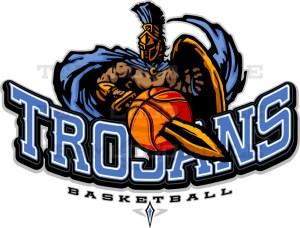Trojans Basketball Logo