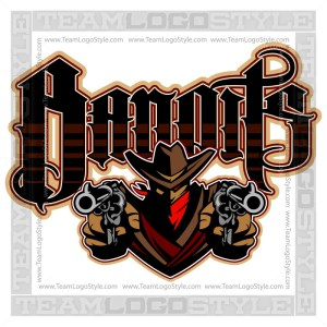 Bandits Team Logo - Vector Clipart Image