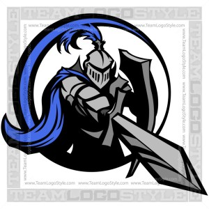 Knight Logo - Vector Clipart Graphic