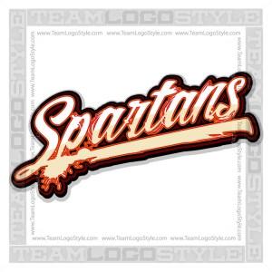Spartans Shirt Logo - Vector Clipart image