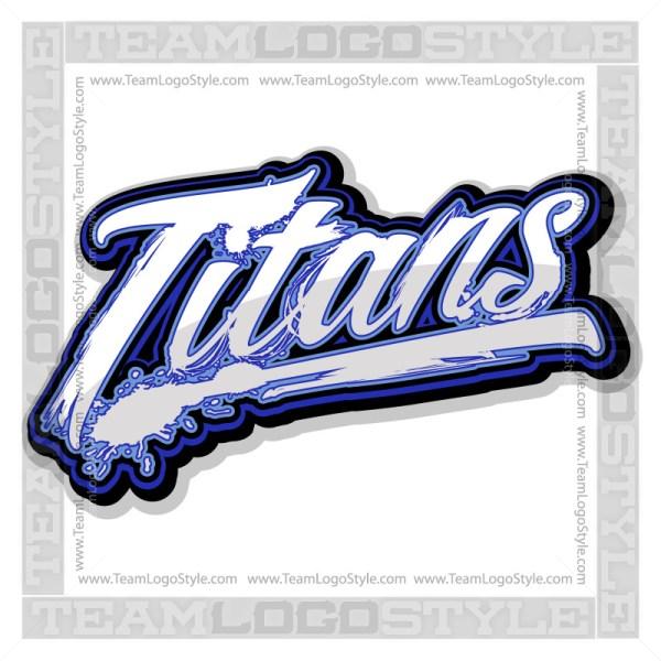 Titans Shirt Logo - Vector Clipart image