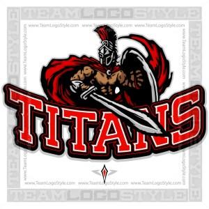 Titans Team Logo - Clipart Image
