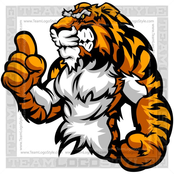 Tiger Champion Clip Art