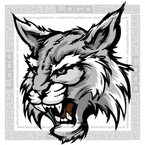 Wildcat Clip Art - School Mascot Graphic