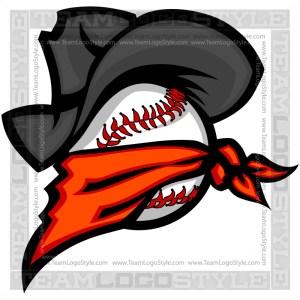 Outlaw Baseball Clip Art Image