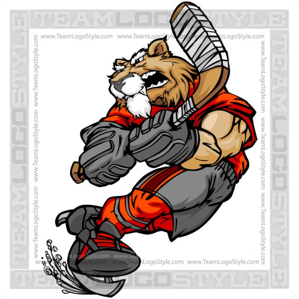 Cougar Hockey Clipart