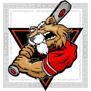Wildcat Baseball Clip Art