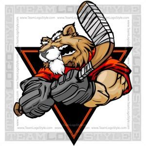 Wildcat Hockey Clip Art