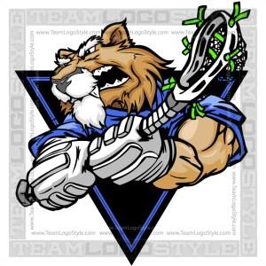 Wildcat Lacrosse Clip Art