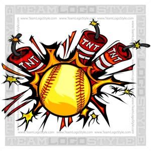 Dynamite Softball Logo