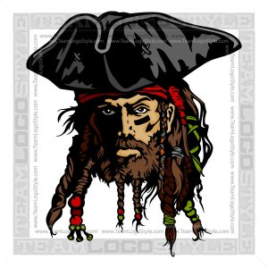 Pirate Captain Clipart