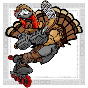 Roller Hockey Thanksgiving Turkey