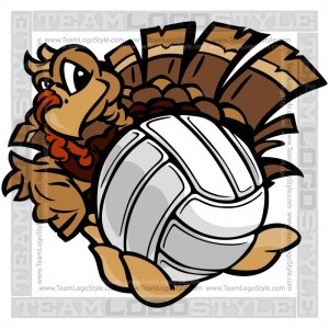Volleyball Thanksgiving Turkey