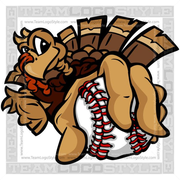 Baseball Thanksgiving Turkey
