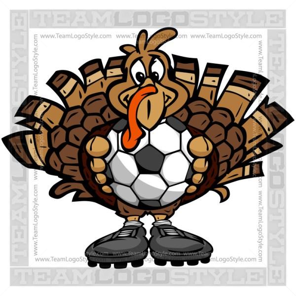 Thanksgiving Soccer Clip Art