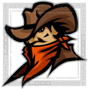 Wrangler Clip Art - Vector Mascot Graphic