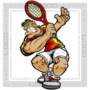 Tennis Player Clip Art