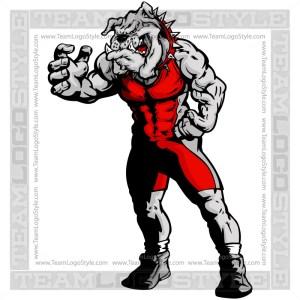 Wrestling Bulldog Image