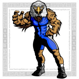 Wrestling Eagle Image