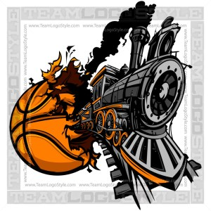 Train Busting out of Basketball