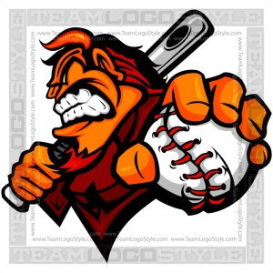 Devil Baseball Logo