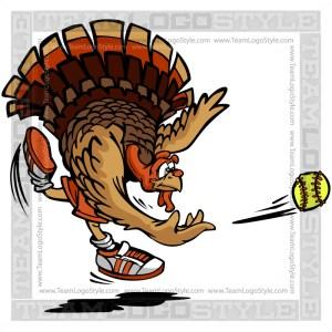 Clip Art Softball Turkey