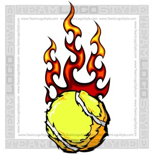 Tennis Ball Flames