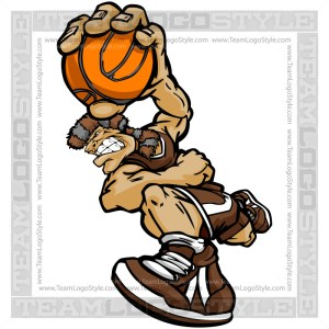 Basketball Pioneer Cartoon