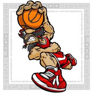 Basketball Pirate Cartoon