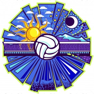 Volleyball Starlight Clip Art