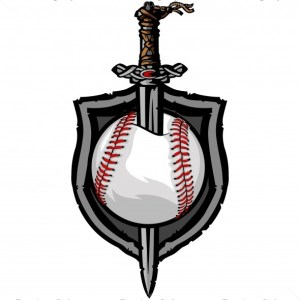 Viking Baseball Vector