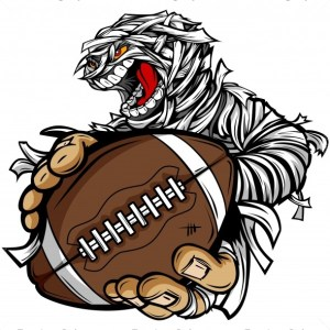 Halloween Football Clip Art