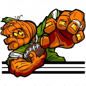 Pumpkin Football Logo