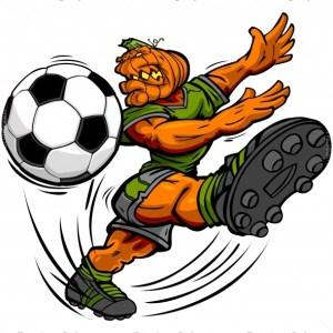 Halloween Soccer Clip Art
