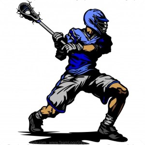 Lacrosse Player Silhouette