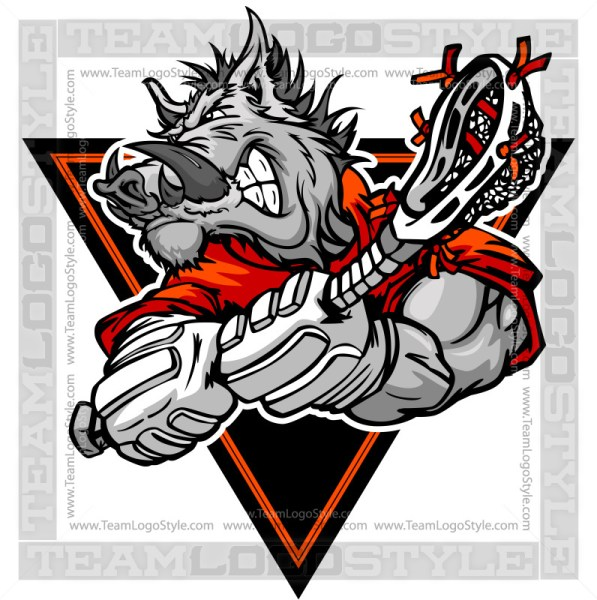 Boar Lacrosse Player