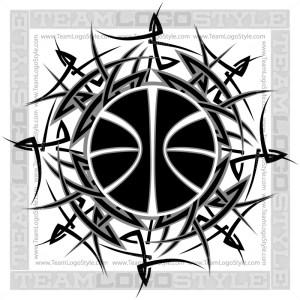 Tribal Basketball Design