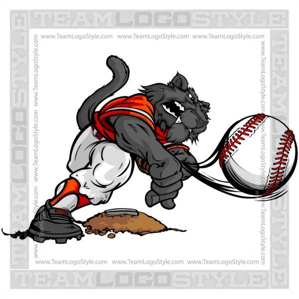 Baseball Pitcher Panther