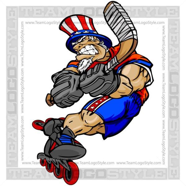 Roller Hockey Uncle Sam