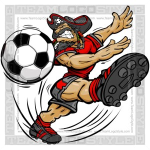 Soccer Pirate Cartoon