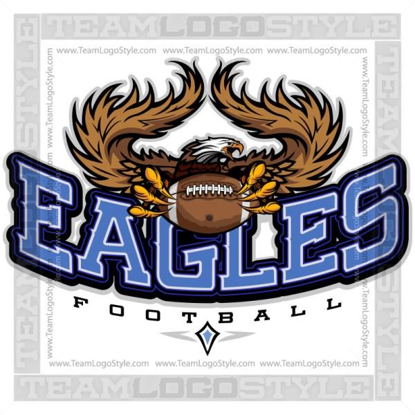 Team Logo - Eagles Football