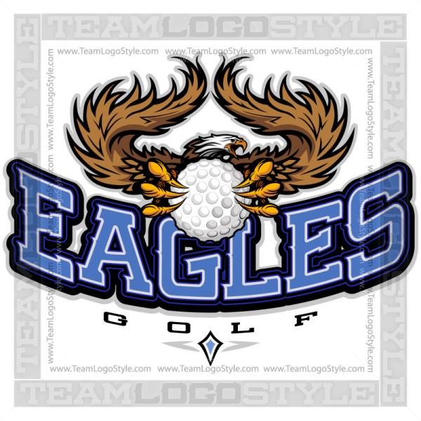 Team Logo - Eagles Golf